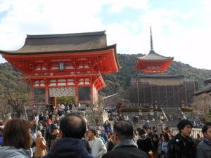 初詣に清水寺へ行ってきました